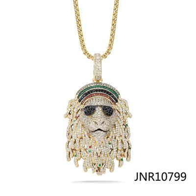Jasen Jewelry Hip Hop Design Lion Leo Custom Jewelry Pendant