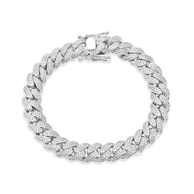 Jasen Jewelry Link Chain for Men Silver 925